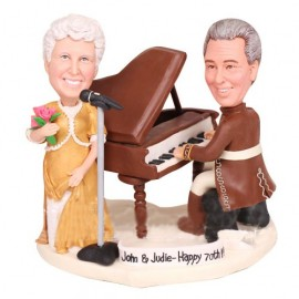 Marvelous 60Th Wedding Anniversary Cake Toppers Gamerscity Chair Design For Home Gamerscityorg
