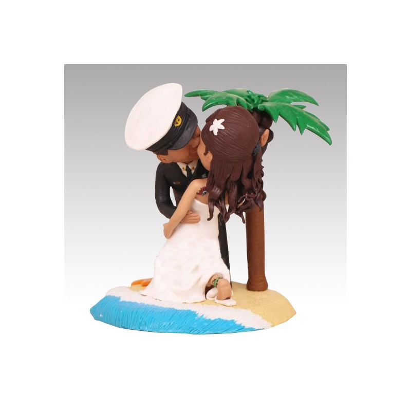 Us Navy Chief Military Wedding Cake Toppers