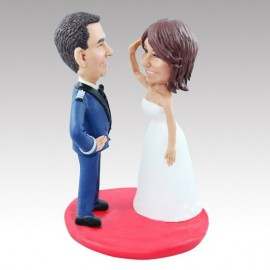 Air Force Military Wedding Cake Toppers