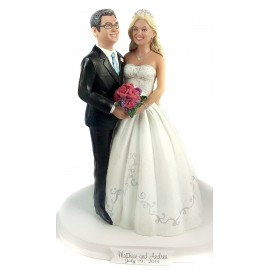 Vintage Wedding Cake Toppers