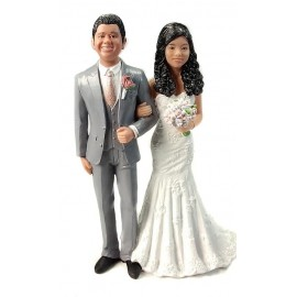 Classic Custom Wedding Cake Toppers