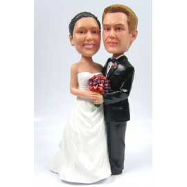 Classic Custom Wedding Cake Toppers