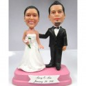 Personalized Bride And Groom Wedding Cake Toppers
