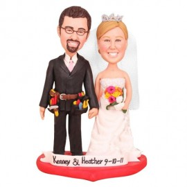 Construction Cake Toppers Groom with Tool Belt