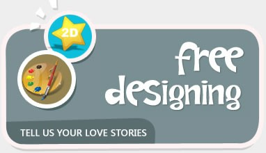 Tell Us Your Love Stories to Win Free 2D Sketch Dedigning Service